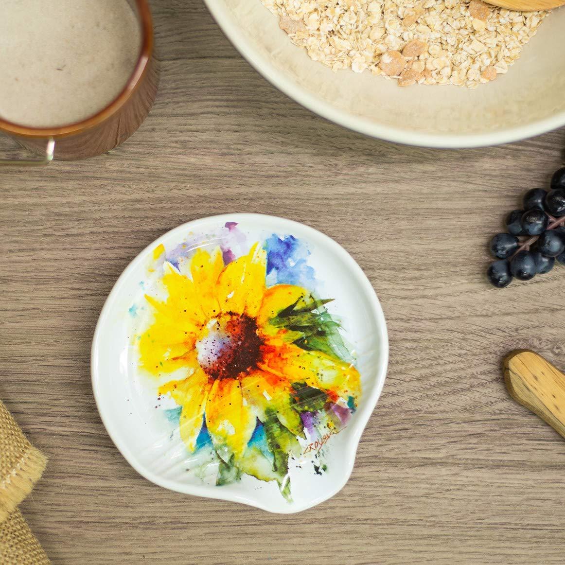 sunflower-kitchen-decor-spoon-rest