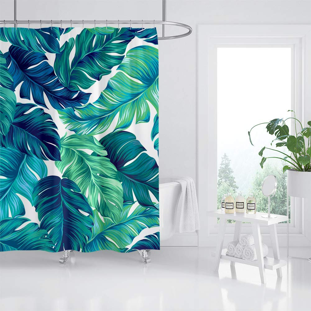 tropical-decor-shower-curtain