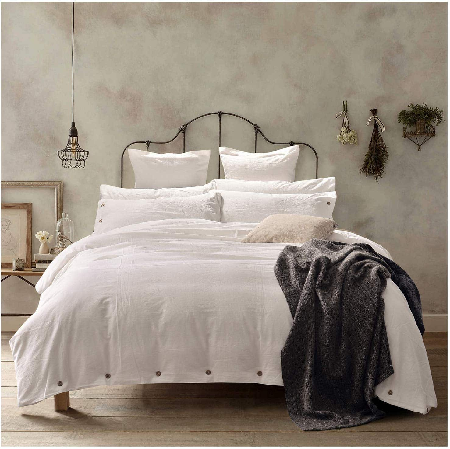 farmhouse-bedding-washed-cotton