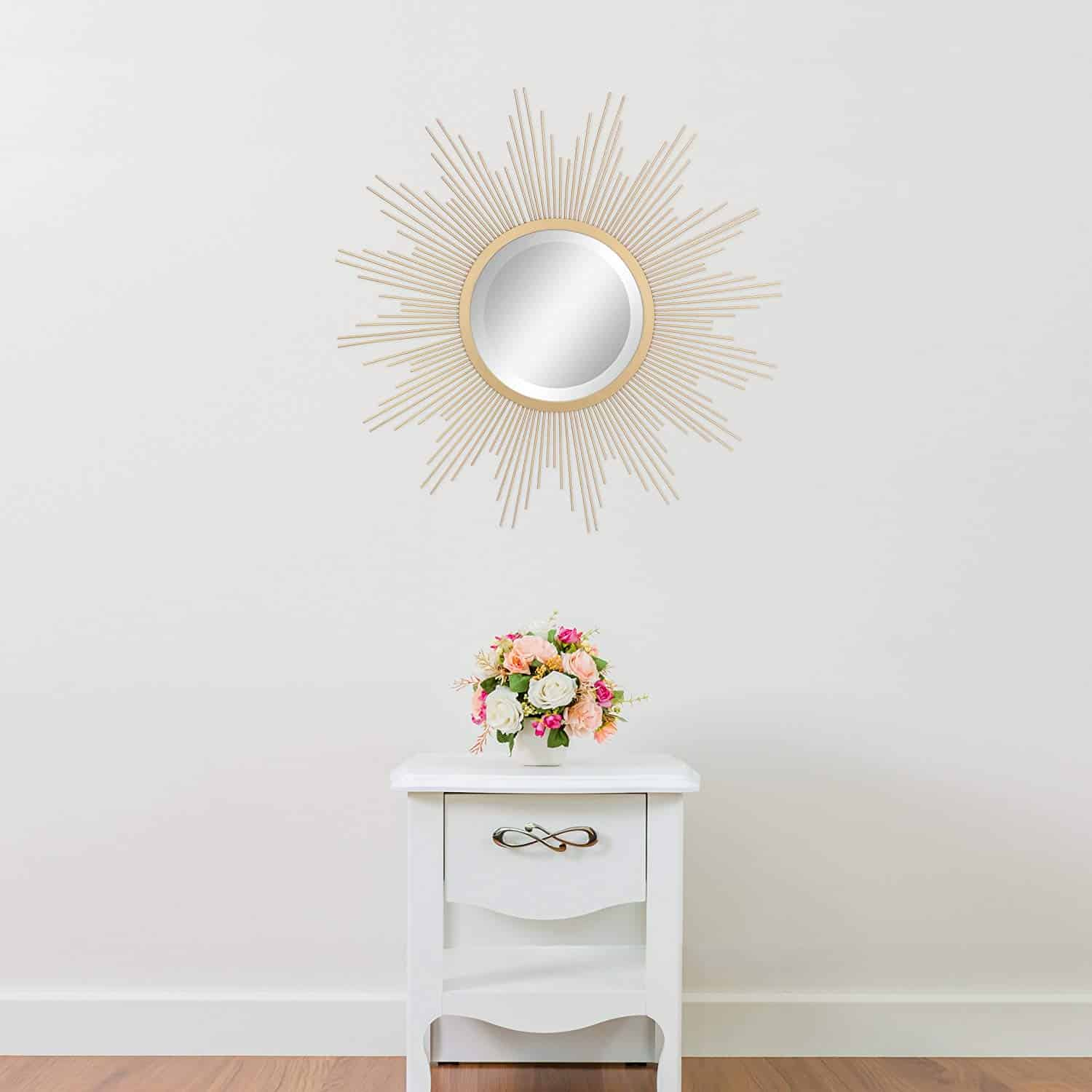 entryway-mirror-sunburst