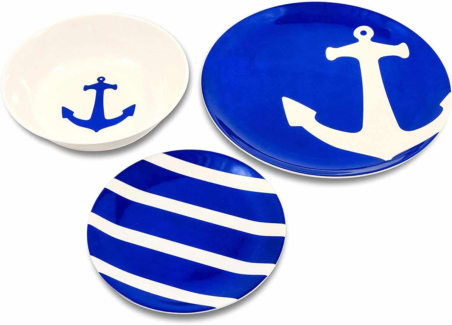 melamine-plastic-dinnerware-nautical