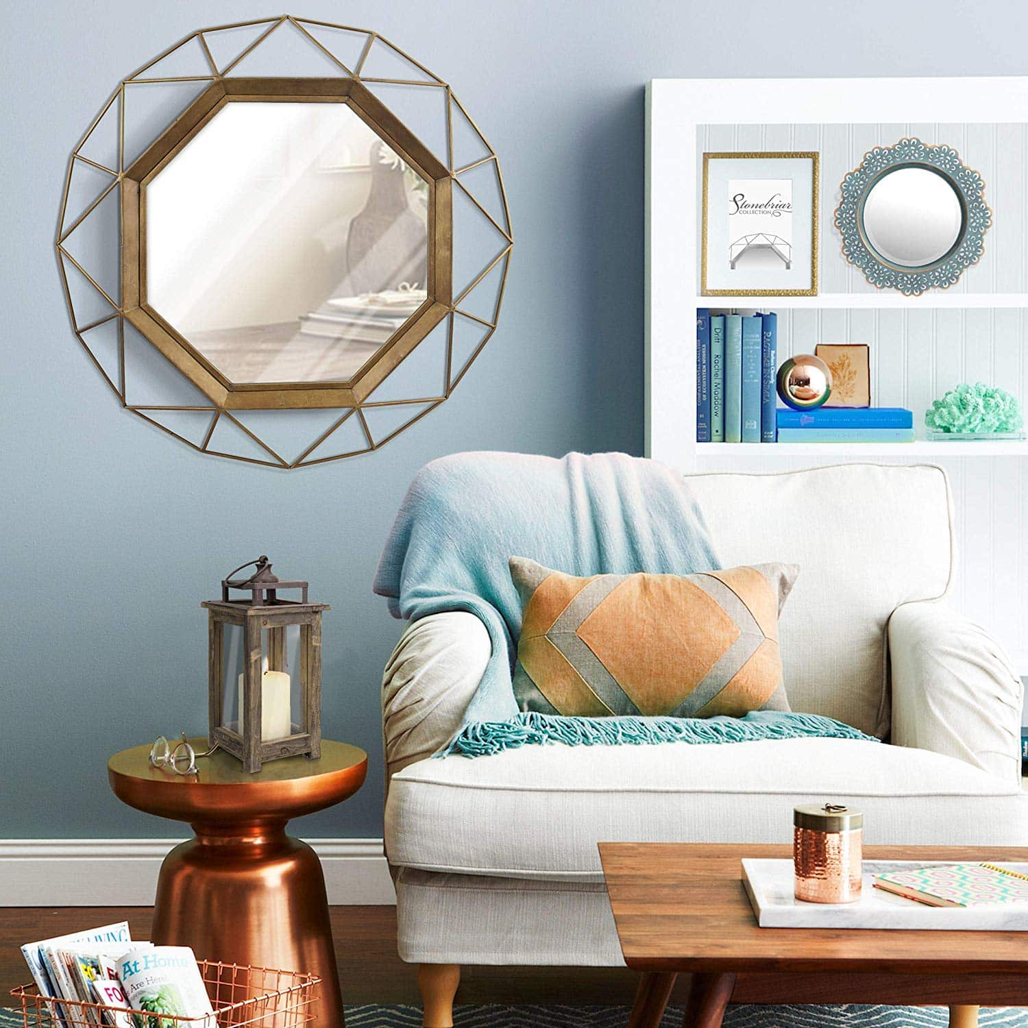 entryway-mirror-geo-gold